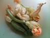 Risotto con zucchine fiori di zucca e zafferano 3
