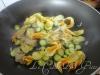 Risotto con zucchine fiori di zucca e zafferano 4