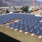 Pannelli solari sede Bauer