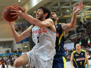 Aquila Basket trento e Bauer