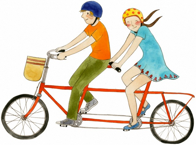 bicicletta-tandem