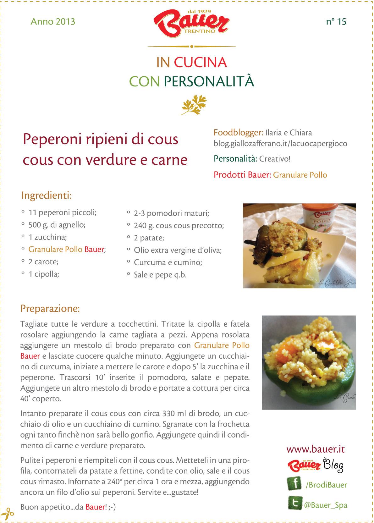 In cucina con personalità ricetta 15