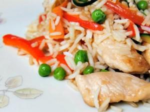 riso-basmati-verdure-pollo