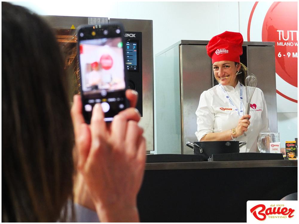 Chef-Antonella-Iannone-ShowCooking-TuttoFood2019